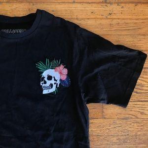 Pull&Bear New Generation Aesthetics Skull T-shirt
